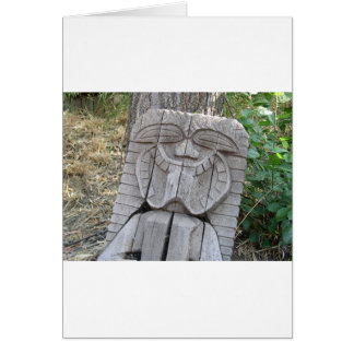 Tiki God Card