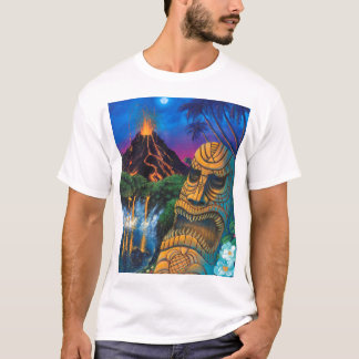 "Tiki God T-Shirt (""Destroyed"" Version)"