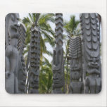 Tiki Guardians at Place of Refuge - Mousepad