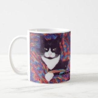 """""""Tiki in Doug's Afghan"""" Coffee Mug"""