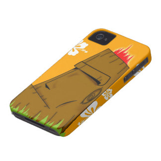 Tiki man iPhone 4 cover