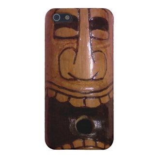 Tiki Man iphone case (1) iPhone 5 Cases