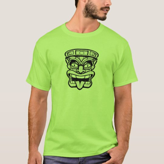 tiki mask hawaiian art T-Shirt