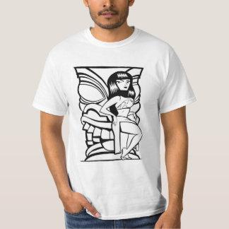 Tiki Mask Hula Girl T-Shirt