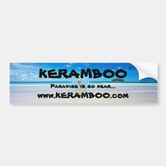 Tiki Paradise Bumper Sticker