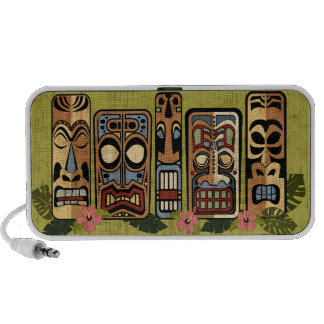 Tiki Party Doodle Notebook Speakers