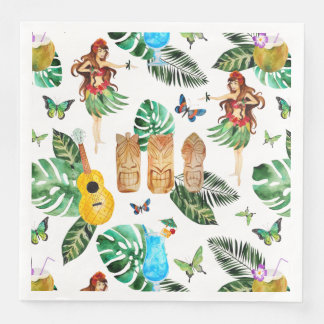 Tiki Party Napkin Paper Napkins