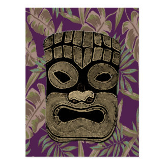 TIKI PARTY POSTCARD