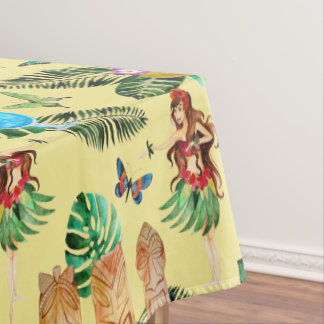 Tiki Party Tablecloth