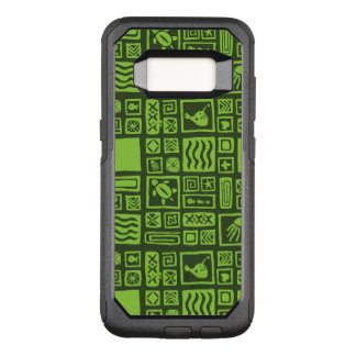 Tiki Pattern OtterBox Commuter Samsung Galaxy S8 Case