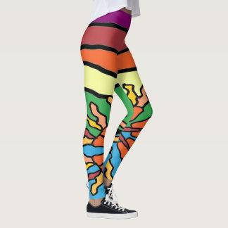 Tiki Tiki 2 Leggings