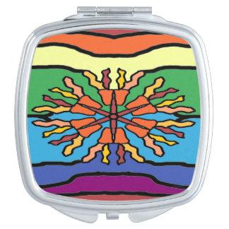 Tiki Tiki Compact Mirrors