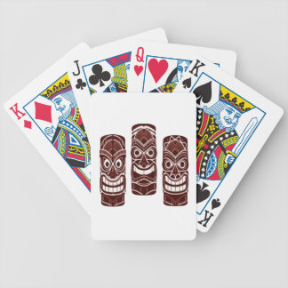 Tiki Time Bicycle Playing Cards