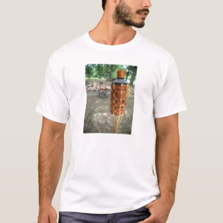 Tiki Torch and Camp Fire T-Shirt