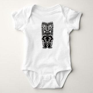 tiki totem baby bodysuit