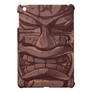 Tiki Wooden Statue Totem Sculpture  iPad Mini Case