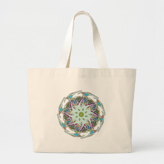 tikigiki-abstract-element-023 large tote bag