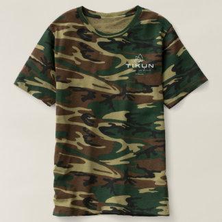 Tikun Logo Camo T T-shirt