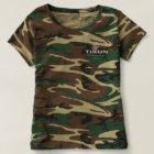 Tikun Logo Women's Camo T T-shirt