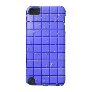 [TIL-BLU-1] Tuile bleue de douche Coque iPod Touch 5G