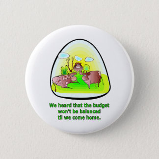 Til the Cows Come Home 2 Inch Round Button