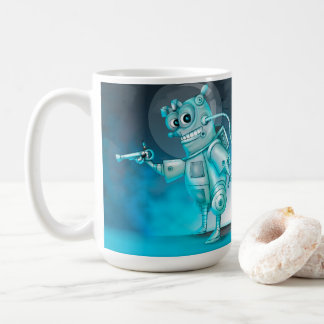 TILDE ALIEN ROBOT CARTOON Classic Mug