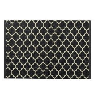 TILE1 BLACK MARBLE & BEIGE LINEN iPad AIR CASE