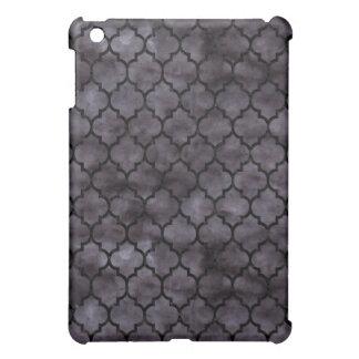 TILE1 BLACK MARBLE & BLACK WATERCOLOR (R) iPad MINI COVERS