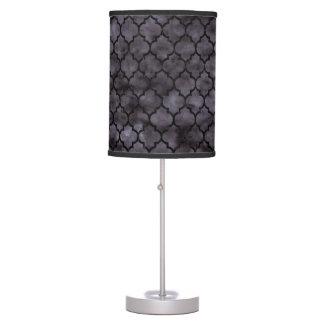 TILE1 BLACK MARBLE & BLACK WATERCOLOR (R) TABLE LAMP