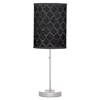 TILE1 BLACK MARBLE & BLACK WATERCOLOR TABLE LAMP