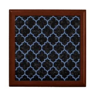 TILE1 BLACK MARBLE & BLUE DENIM GIFT BOX