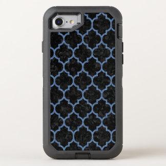 TILE1 BLACK MARBLE & BLUE DENIM OtterBox DEFENDER iPhone 8/7 CASE