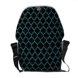 TILE1 BLACK MARBLE & BLUE-GREEN WATER COMMUTER BAG
