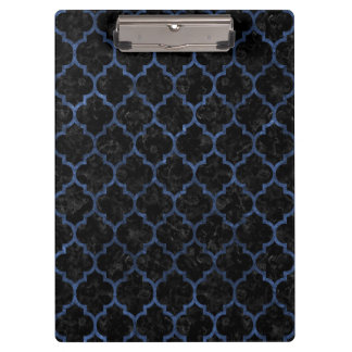 TILE1 BLACK MARBLE & BLUE STONE CLIPBOARD