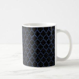 TILE1 BLACK MARBLE & BLUE STONE COFFEE MUG