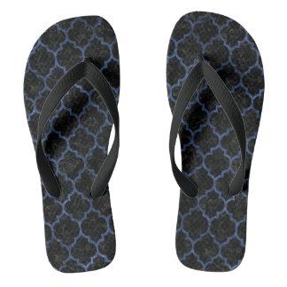 TILE1 BLACK MARBLE & BLUE STONE FLIP FLOPS