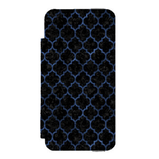 TILE1 BLACK MARBLE & BLUE STONE INCIPIO WATSON™ iPhone 5 WALLET CASE
