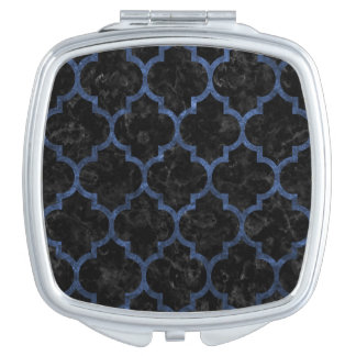 TILE1 BLACK MARBLE & BLUE STONE MAKEUP MIRRORS