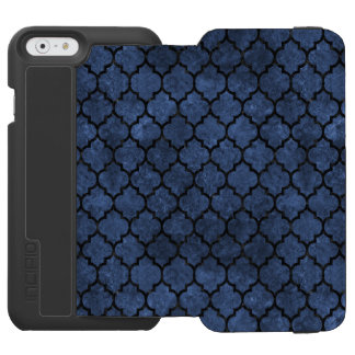 TILE1 BLACK MARBLE & BLUE STONE (R) INCIPIO WATSON™ iPhone 6 WALLET CASE