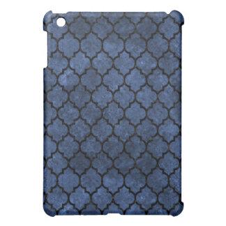 TILE1 BLACK MARBLE & BLUE STONE (R) iPad MINI CASES