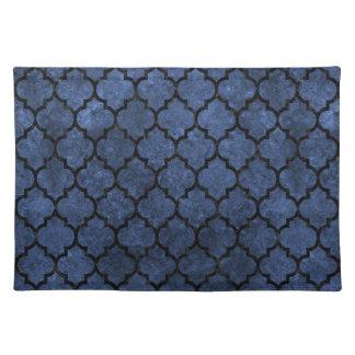 TILE1 BLACK MARBLE & BLUE STONE (R) PLACEMAT