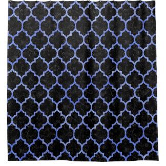 TILE1 BLACK MARBLE & BLUE WATERCOLOR