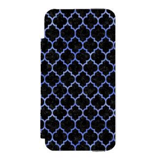 TILE1 BLACK MARBLE & BLUE WATERCOLOR INCIPIO WATSON™ iPhone 5 WALLET CASE