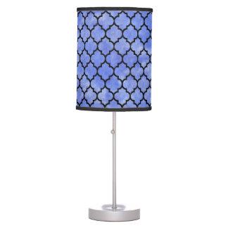 TILE1 BLACK MARBLE & BLUE WATERCOLOR (R) TABLE LAMP