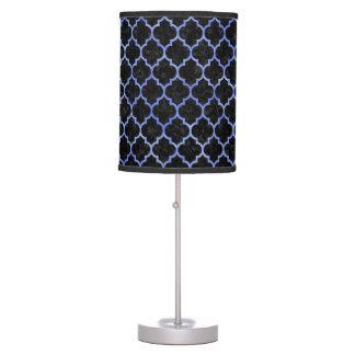 TILE1 BLACK MARBLE & BLUE WATERCOLOR TABLE LAMP