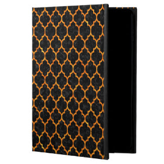 TILE1 BLACK MARBLE & ORANGE MARBLE