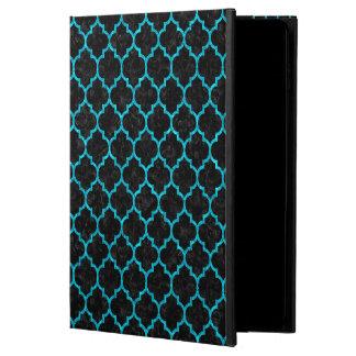 TILE1 BLACK MARBLE & TURQUOISE MARBLE POWIS iPad AIR 2 CASE