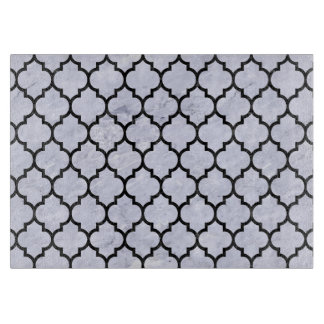 TILE1 BLACK MARBLE & WHITE MARBLE (R) CUTTING BOARD