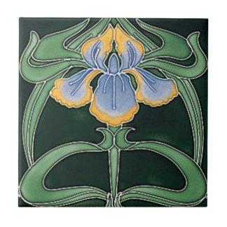 Tile - Art Nouveau Lilly