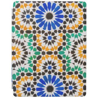 Tile decoration at Bahia Palace iPad Cover